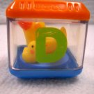 Fisher Price Replacement Alphabet Peek-a-Block Letter D (HC45)