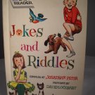 More Jokes and Riddles Hardcover 1963 by Wonder Books (HC03)