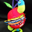 Lamaze Hanging Textured Rattle Photo Taggie Caterpillar