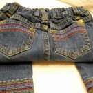 Levis Strauss Signature Jeans Adjustable Waist Band Embroidered Size 3 (HC26)