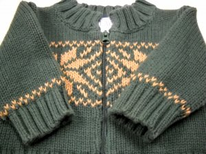 The Children�s Place Holiday Zip Up Sweater Size 0-3 Months (HC25)