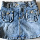 The Children's Place Denim Skort Adjustable Waist Size 6 (HC26)