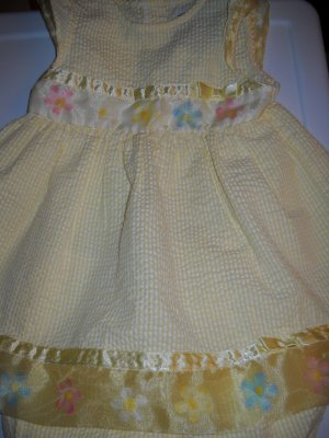 Youngland Summer Dress with Bloomers  Size 24 Months (HC26)