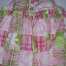 Maggie and Zoe Lined Sun Dress Patchwork Quilt Design  Size 24 Months (HC26)