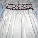 Carters Short Sleeve Smocked Dress NWT Size 3 Months (HC26)