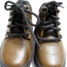 Stride Rite Brown Leather Calf Lace Shoe Size 9 (HC27)