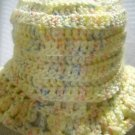 Hand Knitted Infant Spring Hat with Ruffle Brim Size 6-12Months (HC27)