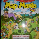 Map Mania Hardback Book by Michael DiSpezio (HC46)