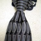 Dockers Boys Lined Navy Blue Clip On 100% Silk Neck Tie NWT (HC47)