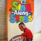 Sing Along Songs Sunday School Classics VHS Video by Cedar Kids Time Life Kids 2001 (HC12)