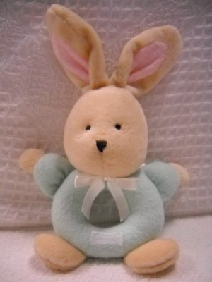 Carters Flat Ring Bunny Infant Rattle (HC13)