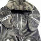 Carters Infant Zip Up Hooded Outer Wear Size 12 Months Chocolate Brown (HC19)