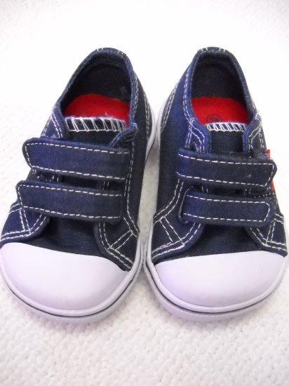 Airwalk® Infant Sneaker Navy Blue Velcro Size 2C (HC27)