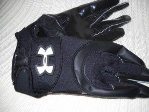 Under Armour Football Gloves Black Youth Medium (HC27)