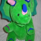 Dinosaur Green Plush Hand Puppet (HC15)