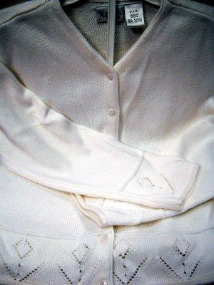 Nordstrom Kids White Girls Sweater Size 7/8 (HC26)