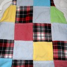 Tommy Hilfiger Patchwork Cotton Dress Size 6/12 Months (HC)