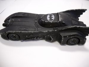 Ertl Batman BATMOBILE Die Cast Metal Car 1992