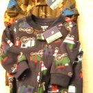 Osh Kosh Two Pajama's One Piece Footed NWT Size 6 Months (HC19)