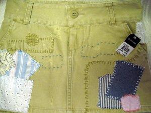 Ralph Lauren Skirt Adjustable Waist Size 7 NWT 100% Cotton (HC)
