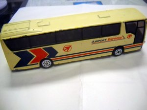 AIRPORT EXPRESS BUS Die Cast Metal Vehicle (HC02)