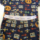 Baby Gap 2PC BOYS Pajama 100% Cotton Navy with Transportation Theme Size XS(HC)