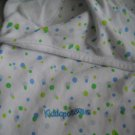 Kiddopotamus Swaddle Me White Infant Wrap Blanket 100% Cotton (HC24)