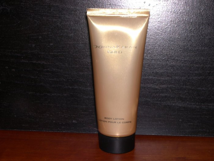 Donna Karan Gold Body Lotion 3.4 OZ.Unboxed