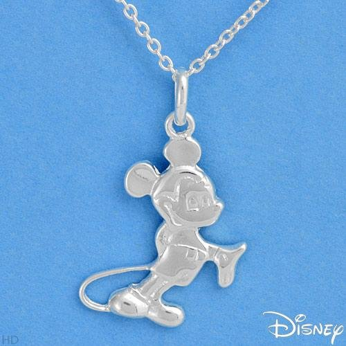 DISNEY Charming Necklace Made in 925 Sterling silver Length 18in