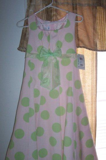 BONNIE JEAN PARTY DRESS SIZE 16 IN GIRLS NWT