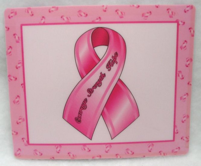 BREAST CANCER AWARENESS MOUSE PAD NEW