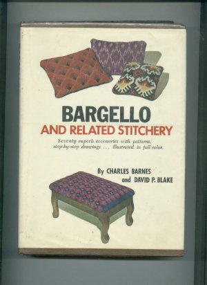 BARGELLO and Related Stitchery NICE BOOK Patterns
