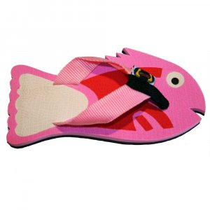 Pink Fish Fiesta Flops - Medium