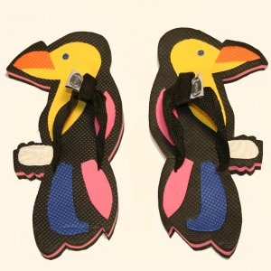 Parrot Kid Flops - XSmall