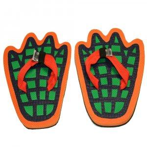 Alligator Feet Kid Flops - XSmall