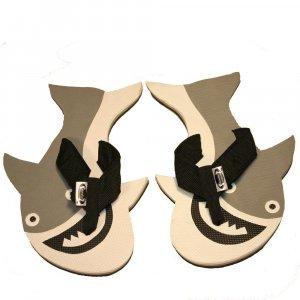 Great White Shark Kid Flops - XSMALL