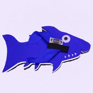 Blue Shark Fiesta Flops - Medium