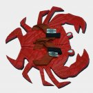 Red Crab Fiesta Flops - Medium