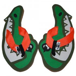 Alligator Head Kid Flops -XSmall