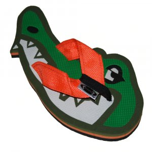Alligator Head Fiesta Flops - Large