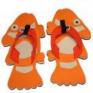 Clownfish Kid Flops - XSmall