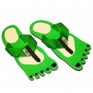 Green Feet Kid Flops - Small