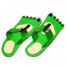 Green Feet Fiesta Flops - Medium