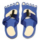Blue Feet Kid Flops - XSmall