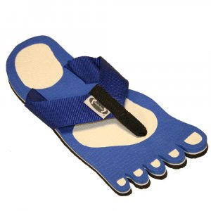Blue Feet Fiesta Flops - Medium
