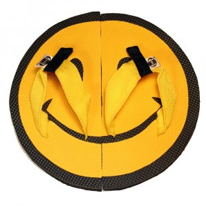 Smiley Face Kid Flops - XSmall