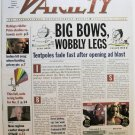 """Variety: August 5-11, 2002 """"Big Bows, Wobbly Legs"""""""