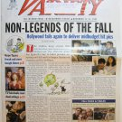 """Variety: November 12-18, 2001 """"Non-Legends of the Fall"""""""