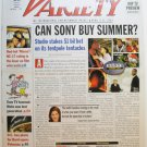"""Variety: April 8 - 14, 2002 """"Can Sony Buy Summer?"""""""