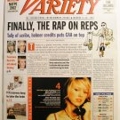 """Variety: January 14 - 20, 2002 """"Finally, the Rap on Reps"""""""